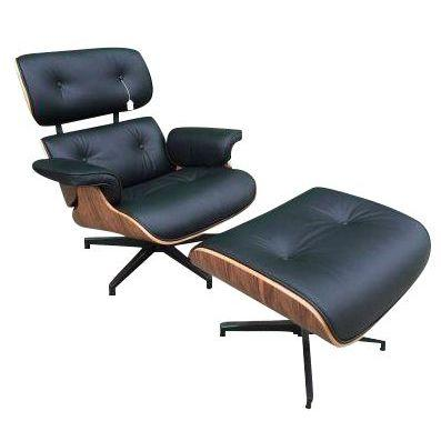 Herman Miller Eames Style Leather Chair ...
