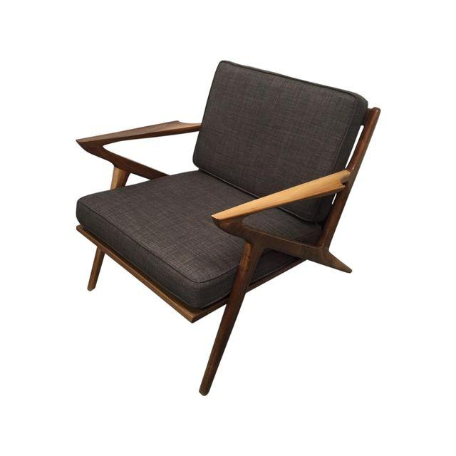 Genial MID CENTURY WALNUT U201cZu201d CHAIR