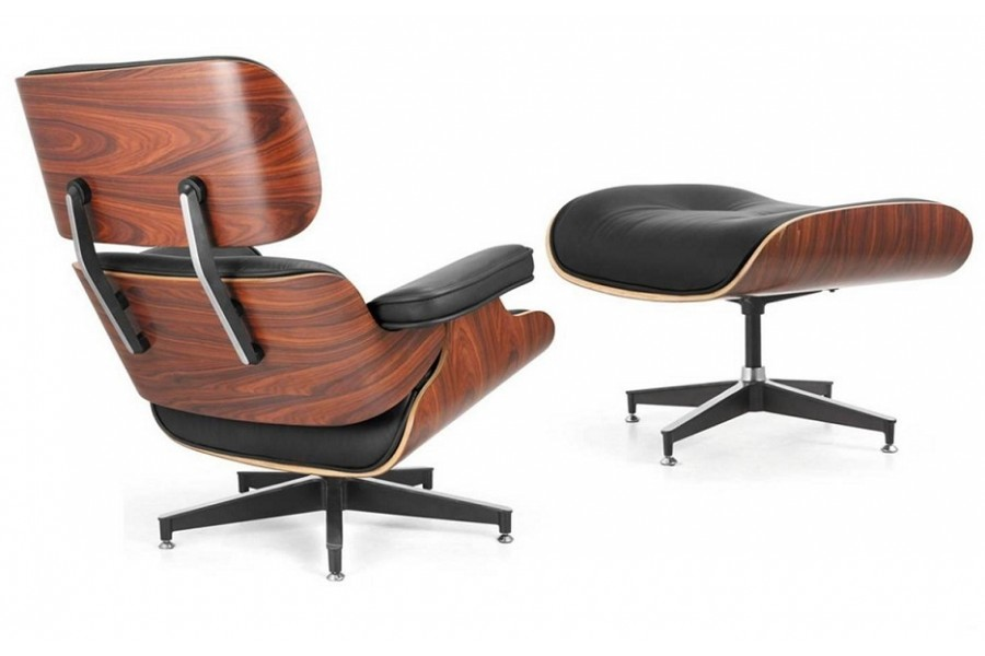 eames herman miller style chair ottoman west coast modern la. Black Bedroom Furniture Sets. Home Design Ideas