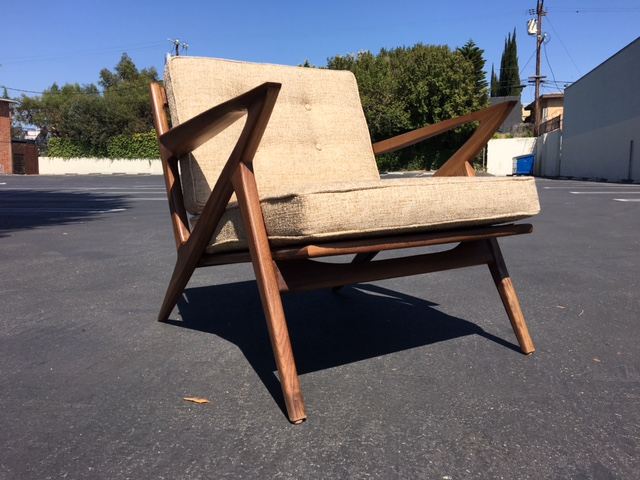 Mid century custom z chair price each west coast for Z chair mid century