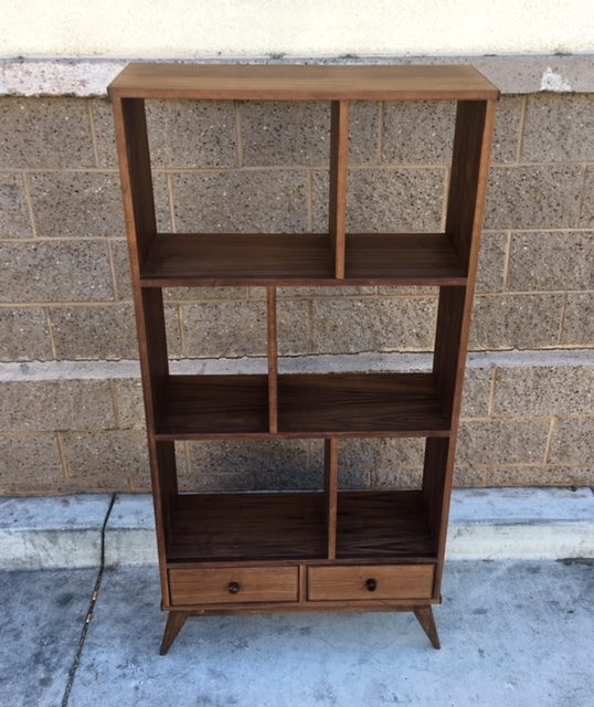 Custom mid century wall unit west coast modern la for Century custom homes