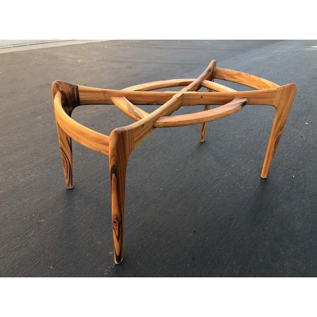 ADRIAN PEARSALL STYLE COMPASS DINING TABLE